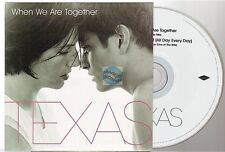 TEXAS when we are together CD SINGLE france french card sleeve