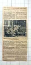 1942 Girls Stripping Razor Blades In Sheffield Light Engineering Push