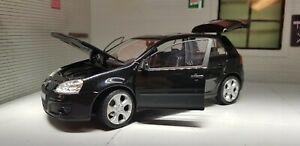 G LGB 1:24 Scala VW Golf Gti Mark 5 V Mk5 12577 Nero Dettagliato Model Cararama