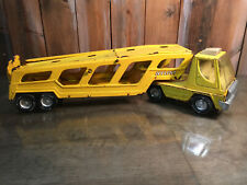 Vintage Pressed Steel Toy Car Nylint Hauler/Carrier Vintage Truck Yellow 1970s