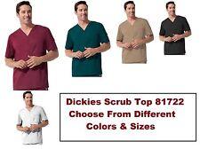 Dickies Gen Flex Mens Scrubs 81722 Utility V Neck Top Choose colors sizes NWT