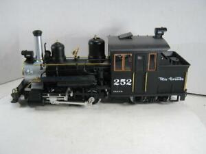 G Scale LGB Rio Grande Forney Steam Loco #252