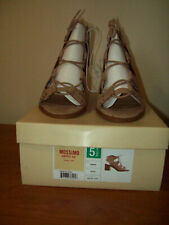 Mossimo Women's Maeve Gladiator Sandals - Blush/Tan Size 5.5   New in Box