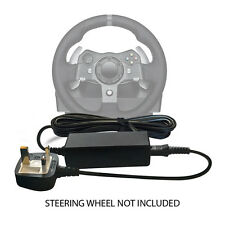 Logitech G27 Racing Gaming Steering Wheel 24v Power supply adapter + mains cable