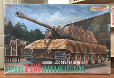 Dragon 1/35 German E-100 Super Heavy Tank 6011, '39-'45 Series, 2000