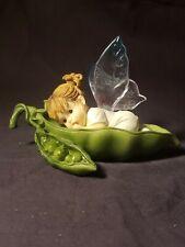 """Vintage Enesco My Little Kitchen Fairies """"My Little Sweet Pea Fairie� 2001"""