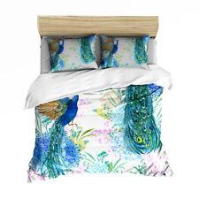 Peacock Twin/Full/Queen/King Bed Duvet/Quilt Cover Set Duvet Covers Bedding