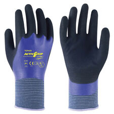 Towa ActivGrip CJ-569 Nitrile Fully Coated Work Dry Wet Grip Gloves (TOW569)