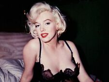 MARILYN MONROE Modeling in Lingerie Rare Photo Reprint