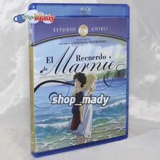 When Marnie Was There - El Recuerdo de Marnie Blu-ray en ESPAÑOL LATINO Region A