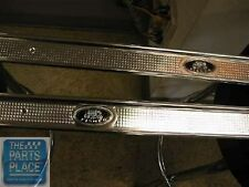 1973-77 Pontiac LeMans / Grand Prix Door Sill Aluminum Plates - Pair