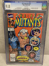 New Mutants # 87 CGC 9.8 (Marvel 1990) 🔑 1st appearance of Cable 🔥