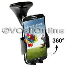 FM 360° Windscreen Car Holder For Samsung Galaxy S5/S4/S3/S2/S/Ace 2/3/ Note 2/3