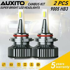 16000LM 9005 LED Headlight Bulb High Beam for Honda Civic 2004-2019 6000K CANBUS