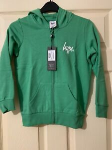 New genuine Hype boys/girls hoodie/ zip up jumper age 9-10 years old RRP £24.99