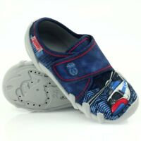 BEFADO boys canvas shoes nursery slippers trainers NEW size 8UK Toddler!