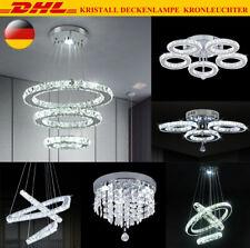 LED Deckenlampe Deckenleuchte Kristall Kronleuchter Wohnzimmerlampe Lüster DE