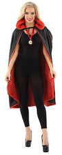 Classified Halloween Dracula Cloak Reversible Cape With Vampire Medallion
