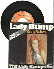 "Penny McLean, Lady Bump, G/VG 7"" Single, 0067"
