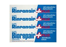 4x BioRepair plus Zahncreme 75ml Zahnfleisch-Schutz Zahnpasta Dr. Wolff`s