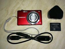 Samsung ST Series ST61 12.2MP Digital Camera - Red