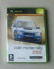 OG Xbox Jeu avec Manuel Colin McRae Rally 2005