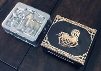 """God of War Stone Mason Collector's Edition Exclusive 2"""" Horse and Troll Carvings"""