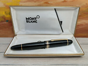 MONTBLANC Meisterstuck No.149 Fountain Pen 18K Nib