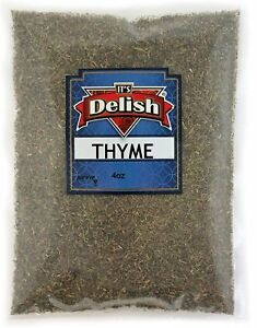 Thyme Leaves All Natural by Its Delish 4 Oz Bag