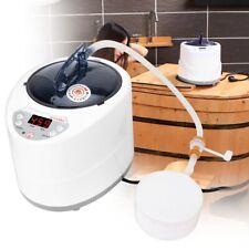 2,8L 1500W Dampferzeuger Dampfgerät Sauna Spa Steamer Steam Maschine Therapie