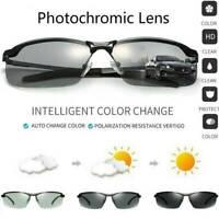 Men Sunglasses Polarized Photochromic Sunglasses Outdoor Driving UV400 Glasses ~