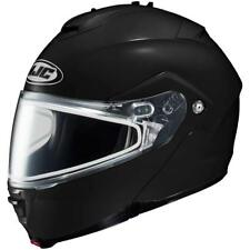 HJC Sy-Max II Helmet LG Large Snowmobile Gloss Black New Modular Sun Shield