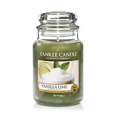 Yankee Candle Large Jar Vanilla Lime Scent  NEW  20816