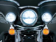 "Kuryakyn Phase 7 7"" LED Headlight Harley Davidson Touring Softail Dyna FLHX FLST"