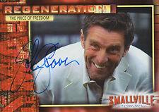 Inkworks Smallville season 4 card #33 signed by Lionel Luthor ~ John Glover