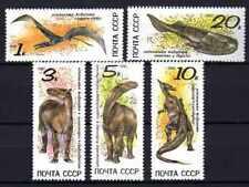 Animaux Préhistoriques Russie (20) série complète 5 timbres oblitérés