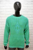 Stefanel Maglione Uomo Taglia 2XL Cardigan Pullover Maglia Sweater Man Casual