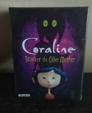 CORALINE BEWARE THE OTHER MOTHER CARD/BOARD GAME CASE FRESH!