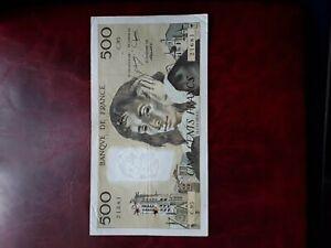 France 1978 500 francs note