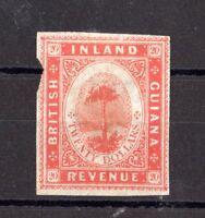 British Guiana QV $20 Inland Revenue Imperforate X8100