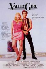 Valley Girl Movie POSTER 27 x 40, Nicolas Cage, Deborah Foreman, A, USA NEW