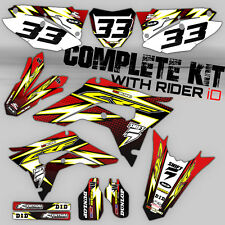 2013 2014 2015 2016 2017 CRF 110 GRAPHICS KIT CRF110 MOTOCROSS DIRT BIKE DECALS