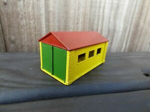 VINTAGE 1960's MATCHBOX LESNEY GARAGE ACCESSORY A 3 RED DIECAST BUILDING TOY VGC