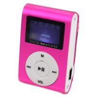 New USB Clip MP3 Music Player LCD Screen Support 32GB Micro SD TF Card Hot Sale