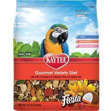 Kaytee Fiesta Max Bird Food For Macaws, 4-1/2-Pound Bag