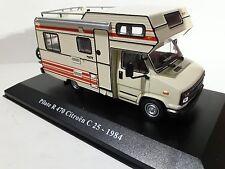 1/43 AUTOCARAVANA CAMPING CAR PILOTE R 470 CITROEN C25 de 1984