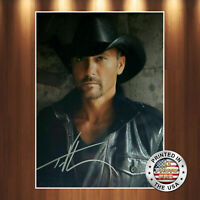 Tim McGraw Autographed Signed 8x10 Photo REPRINT