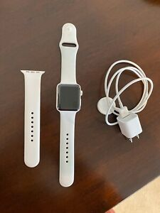 Ceramic Apple Watch - Series 3 - 42mm White - GPS - Cellular GSM Unlocked A1891