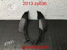 Nose Fairing sides Ram Air Cover for kawasaki 2013 Ninja zx6r ZX 636 Oem