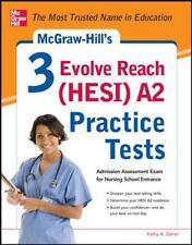 3 Evolve Reach (HESI) A2 Practice Tests by Kathy Zahler (2013, Paperback)